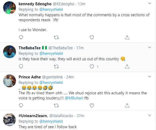 Nigerians react as Presidency locks comment section under president Buhari