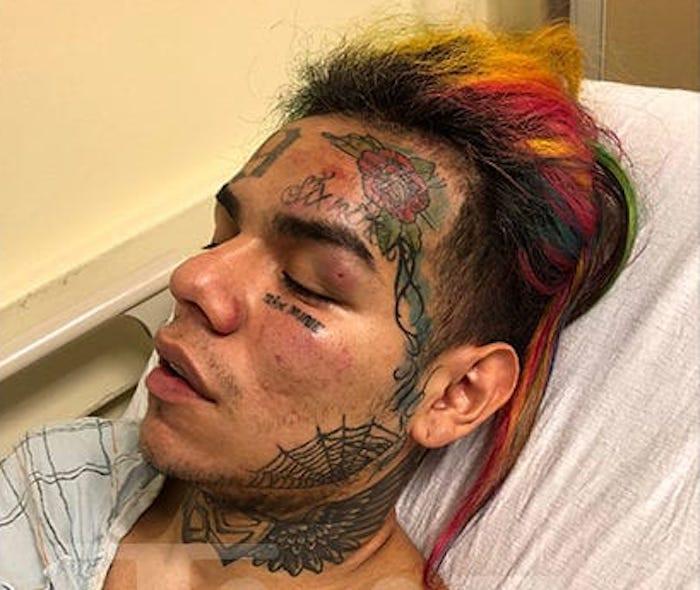 Rapper, Tekashi 6ix9ine hospitalised after overdosing on diet pills and caffeine