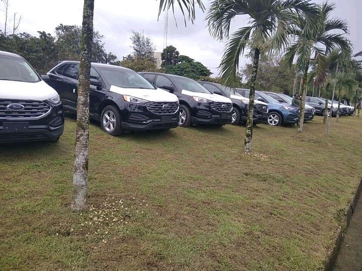 Governor Ayade presents 54 brand new SUVs to Local Govt Chairmen, deputies