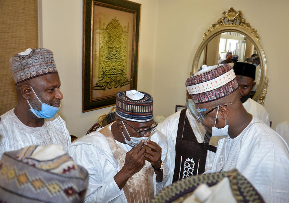 Tinubu, El-Rufai, Ganduje, others attend Atiku and Ribadu