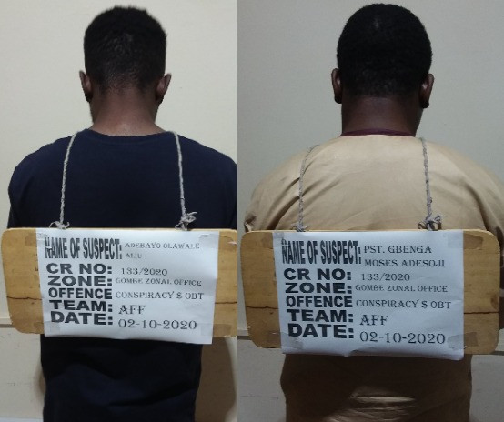 EFCC arrests Yahoo boy and his pastor for alleged N12.7m fraud (photos)