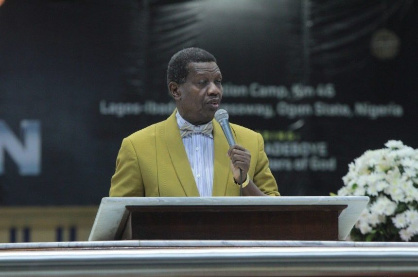 Nigeria must be restructured to avoid a possible break-up - Pastor Adeboye