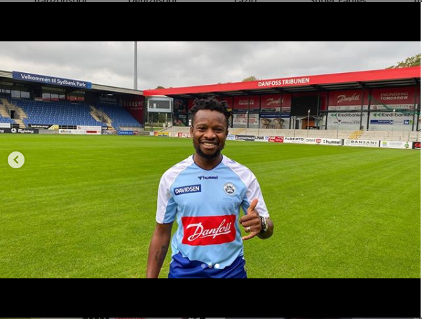 Super Eagles midfielder, Ogenyi Onazi joins Danish Superliga side, SonderjyskE (photos)