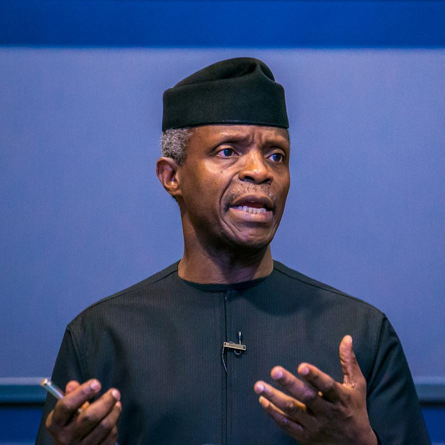 I feel concerned and sometimes angry that SARS operatives arrest and kill young men - Yemi Osinbajo (video)