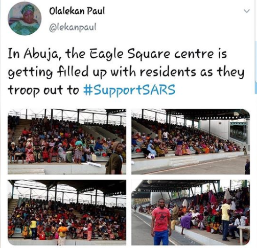 Former SARS supporter called out for crying out for help after being arrested by the police