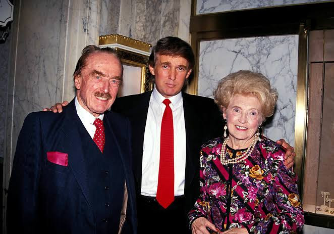 Trump and his dad saw illness as an