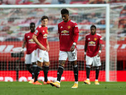 Marcus Rashford issues heartfelt apology to Manchester United fans after Tottenham defeat