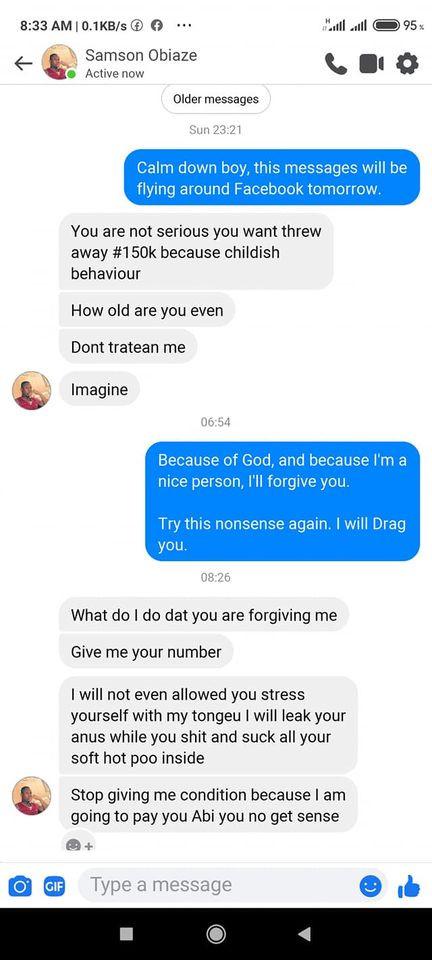 Nigerian man exposed