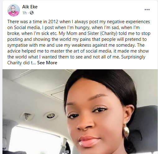 She is not crazy and her outburst is not over a case of domestic violence - Chacha Eke