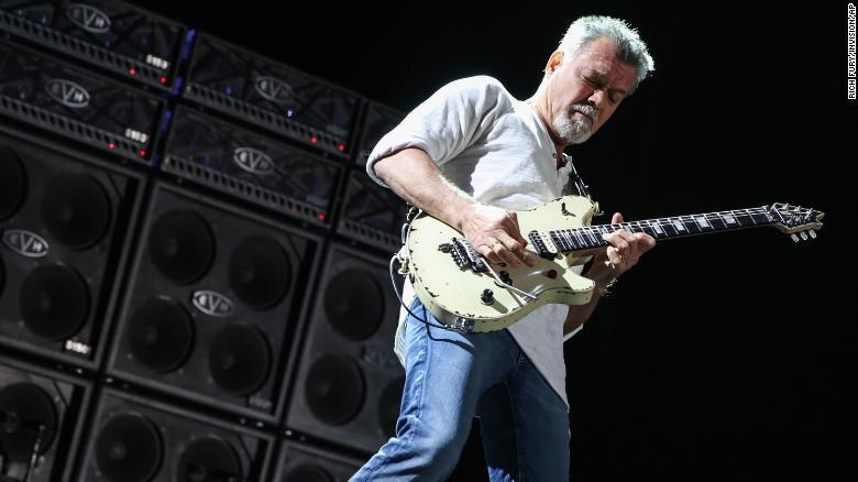 Legendary guitarist Eddie Van Halen dies aged 65