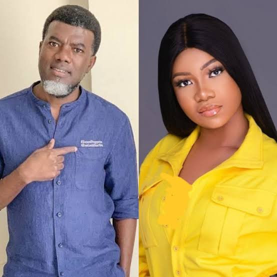 "Reno Omokri berates Tacha for referring to one of her critics as a ""lazy Nigerian youth"""