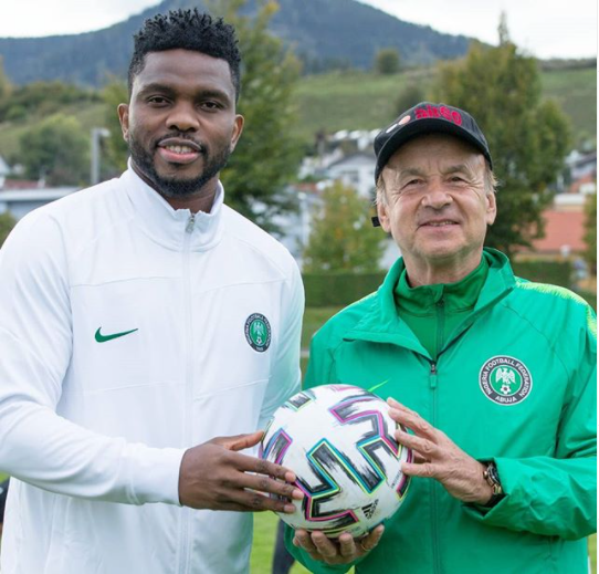 Joseph Yobo officially resumes as new?Super Eagles? Assistant Coach