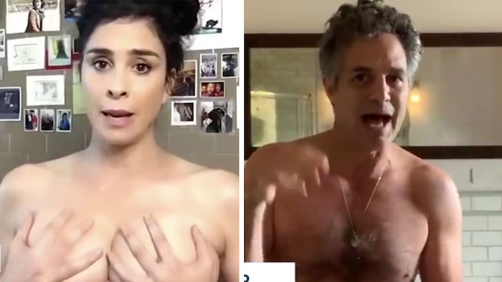 Celebrities get naked to encourage Americans to vote (video)