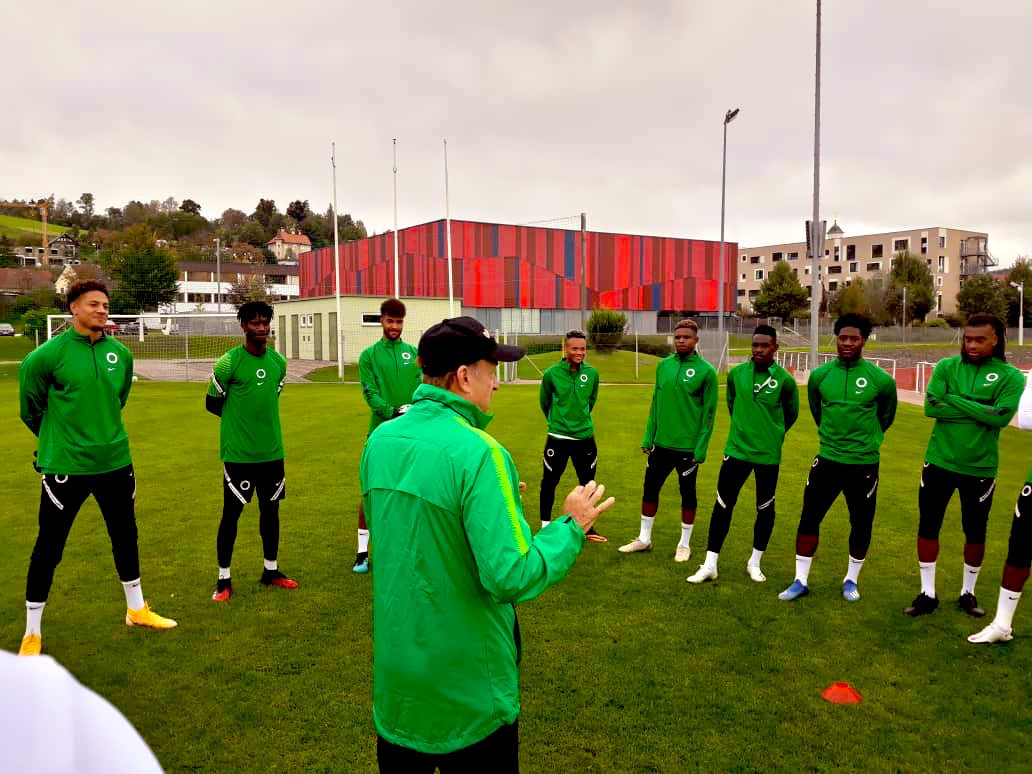 NFF debunks report of four Super Eagles players testing positive for Coronavirus ahead of friendly against Algeria