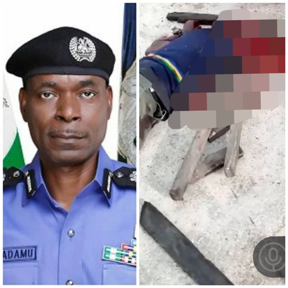IGP reacts as EndSARS protesters kill police officer in Delta and cart away his rifle (videos)