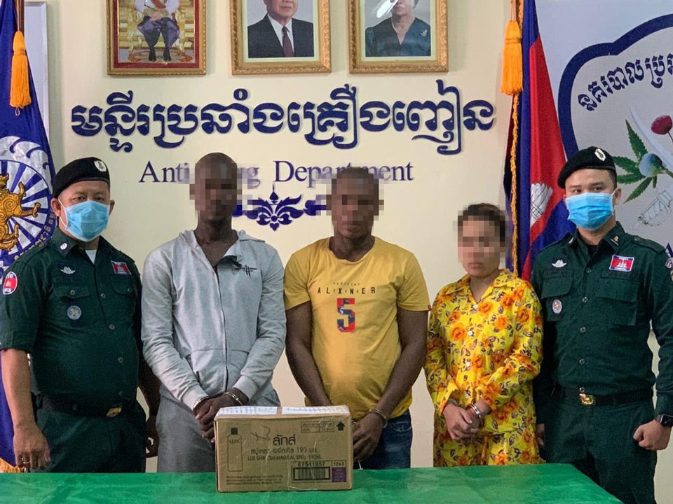 Nigerian, Sierra Leone nationals and Cambodian woman arrested over attempt to smuggle 993.42 grams of drugs into Australia