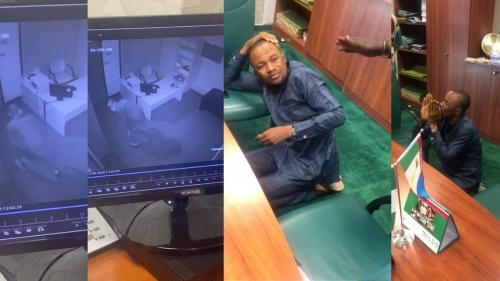 Suspected thief breaks into Lawmaker