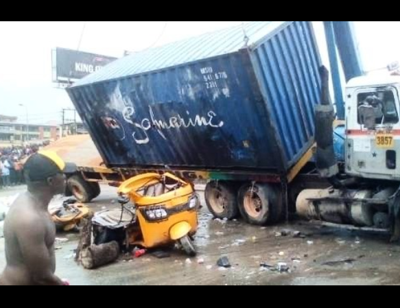 Truck crushes newly married woman, three others to death in Kaduna