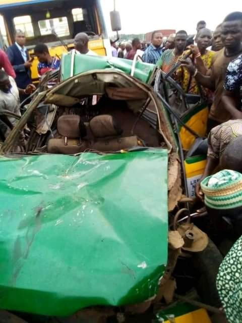 Two Junior Secondary School students crushed to death in Kwara auto crash