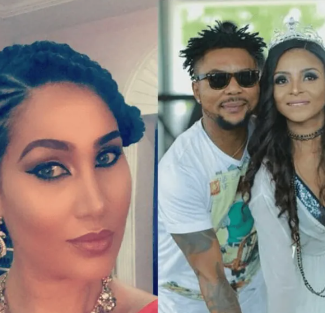 """Say no to domestic violence and drug abuse"" Caroline Dajuma hits back at Oritsefemi after he cursed her for harboring his wife Nabila Fash amid marriage crisis"