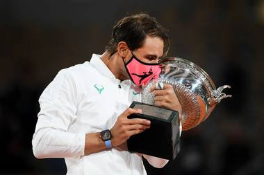 Rafael Nadal beats Novak Djokovic in French Open final to tie Roger Federer with 20 Grand Slam titles