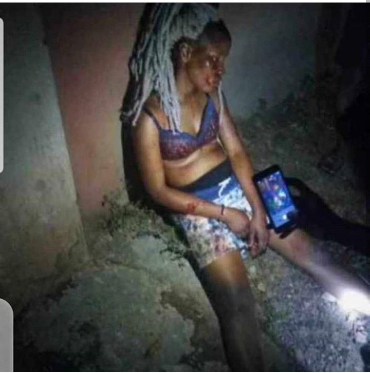 TASUED student on the run after allegedly stabbing his girlfriend to death (graphic photos)