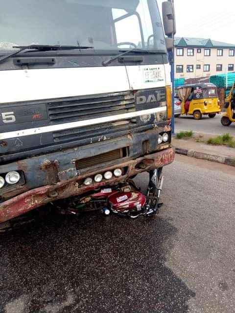 Truck crushes groom