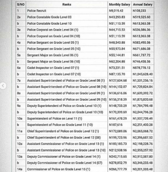 Please increase police salary - BBNaija