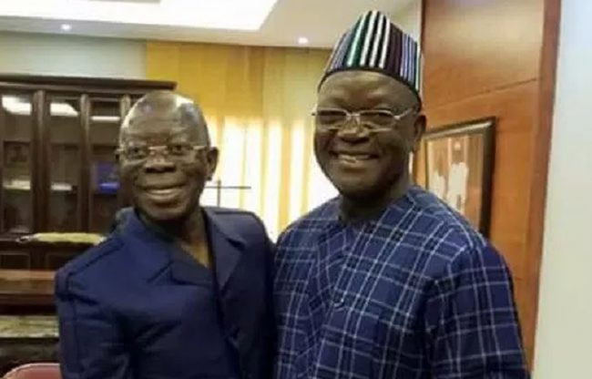 Oshiomhole pleads for out-of-court settlement in Governor Ortom?s N10bn libel suit
