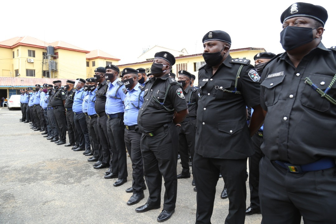 #EndSARS: Lagos Commissioner of Police debriefs disbanded SARS and tactical teams in the state (photos)