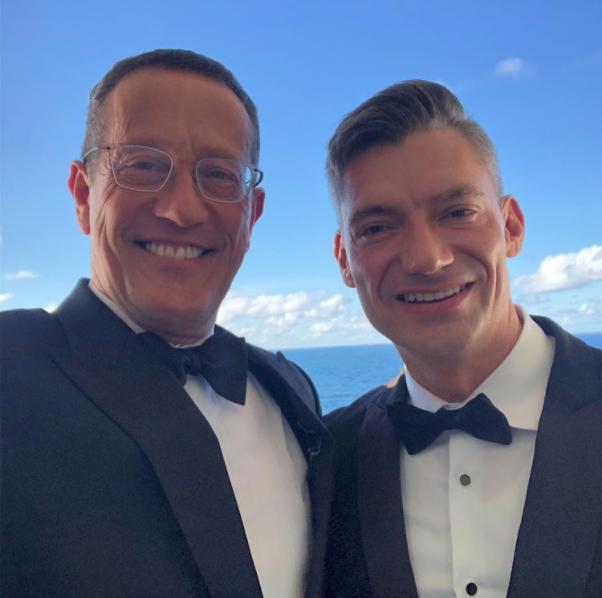 CNN journalist Richard Quest marries longtime male partner