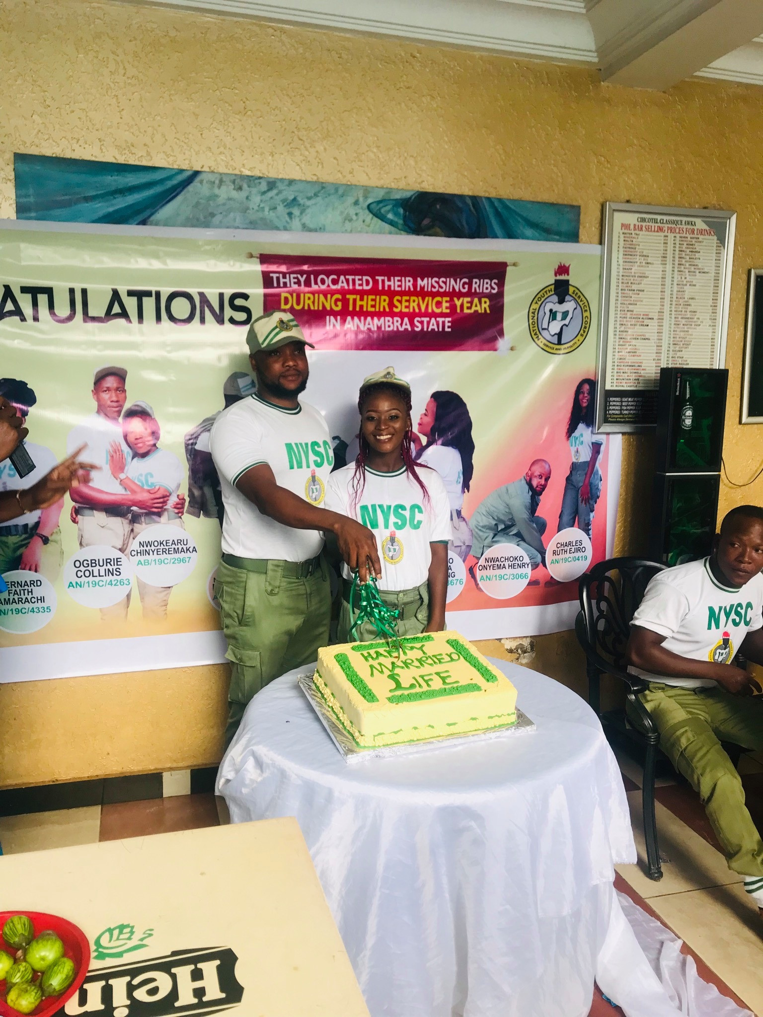corps members got married in Anambra