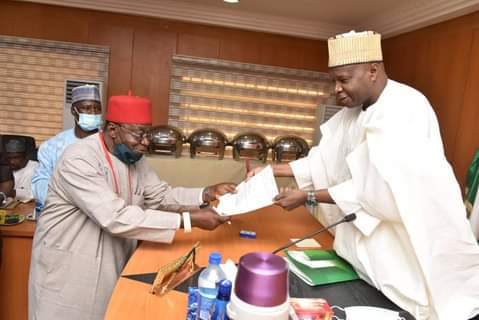 Gombe State Governor swears in an Igbo man as Special Adviser