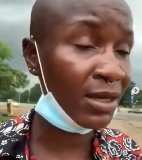 Nigerian lesbian and Gay rights activist, Amara alleges that #EndSARS protesters turned against Queer people after they joined the protest (video)