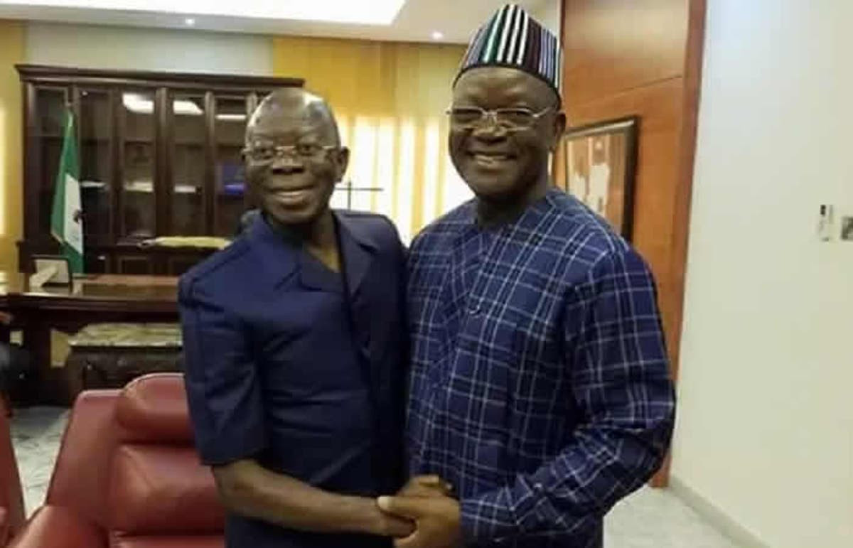 N10bn libel suit: Governor Ortom gives condition to