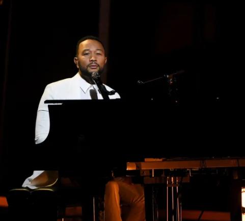 John Legend dedicates his emotional Billboards Music Awards performance to wife Chrissy Teigen after tragic loss of their newborn son