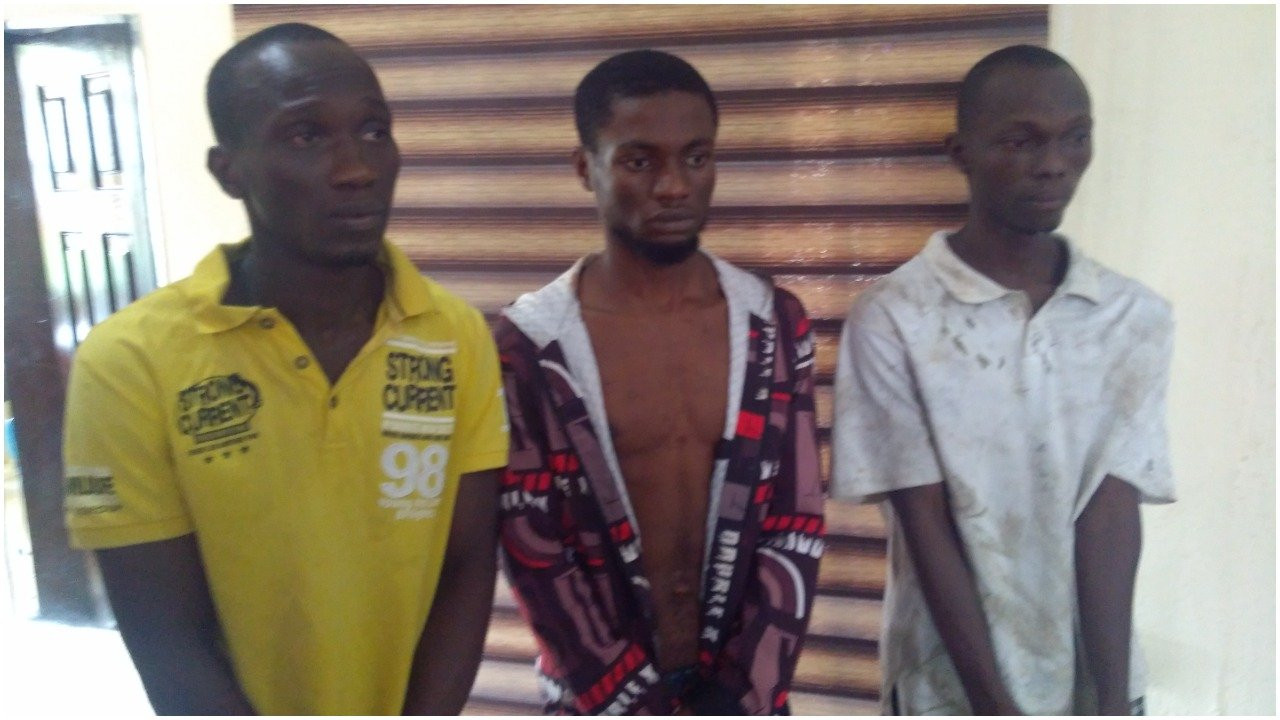 Two ex-convicts and receiver of stolen property arrested by police in Cross River