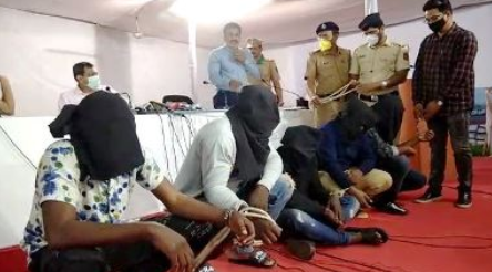 Four Nigerians arrested in India for alleged cyber fraud