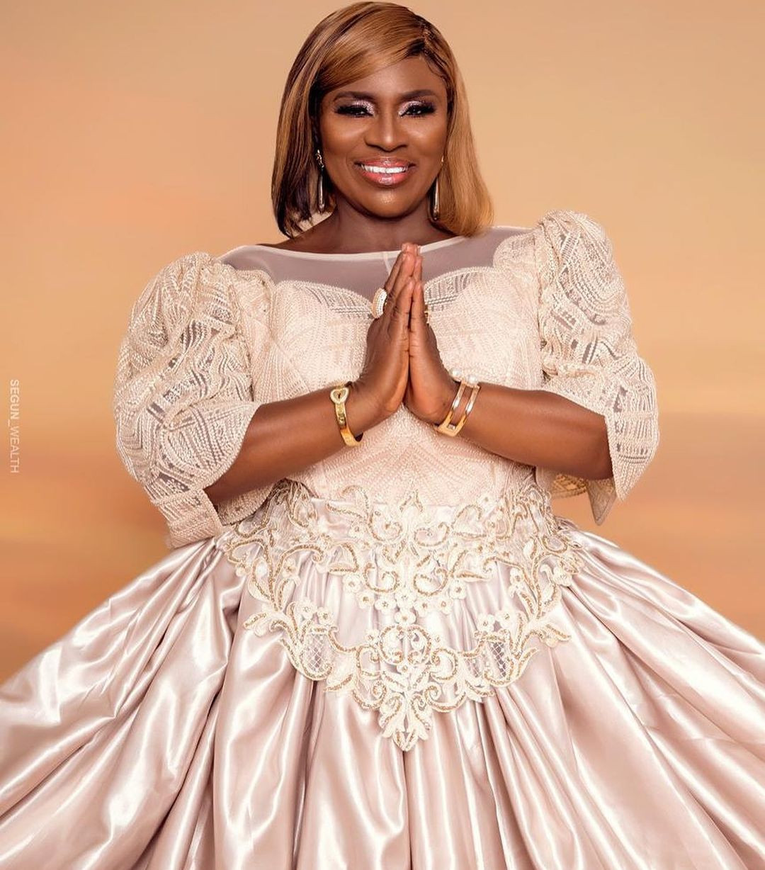 Actress Idowu Philips aka Mama Rainbow shares stunning new photos as she turns 78