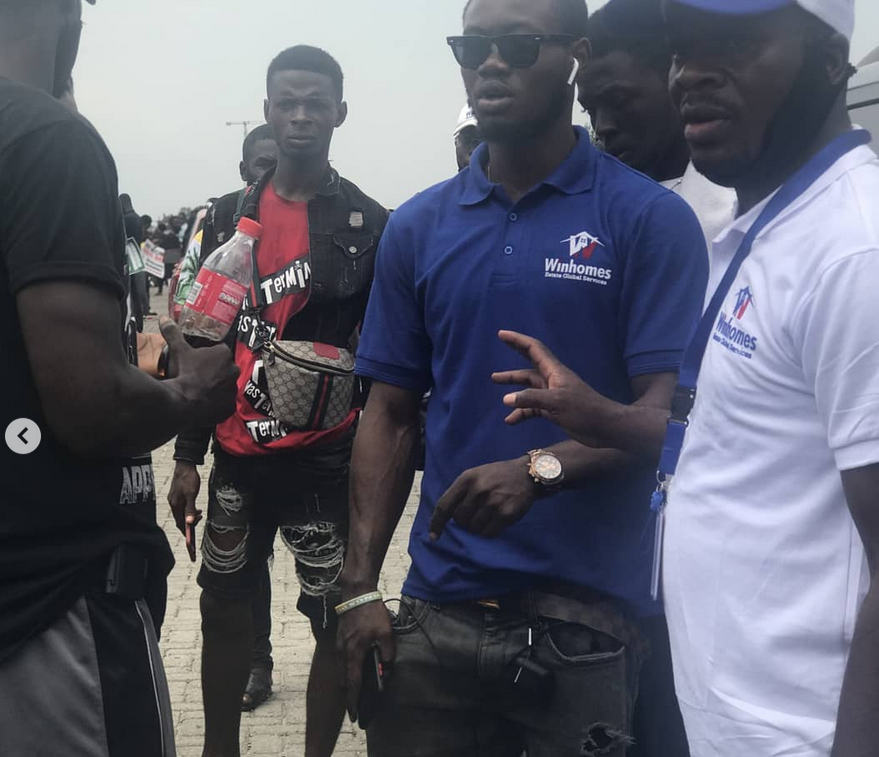 WinHome Estates share packs of Food, Drinks and Water to #ENDSARS protesters as a show of unwavering support  lindaikejisblog2
