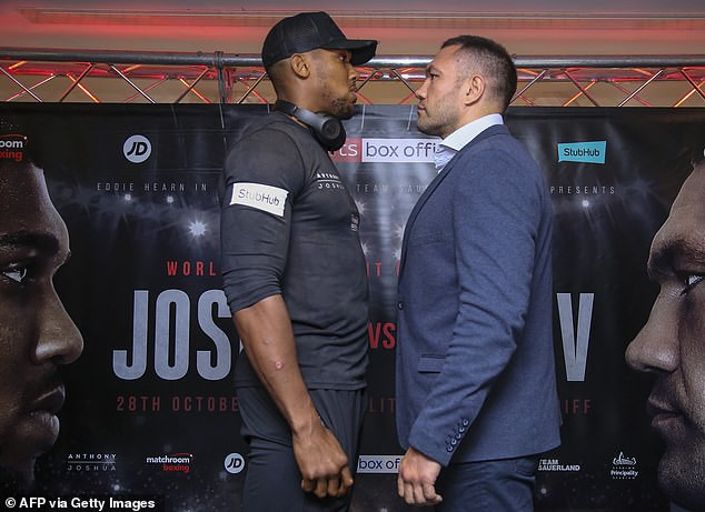 Update: Bulgarian boxer, Kubrat Pulev apologises after being accused of racism over comment he made about Anthony Joshua