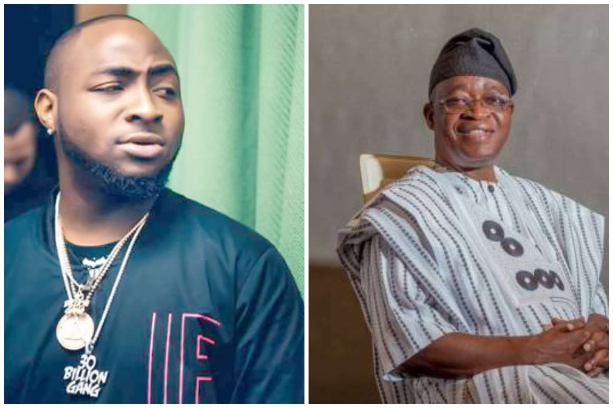 You failed the people of Osun - Davido calls out Governor Oyetola over death of two #EndSARS protesters