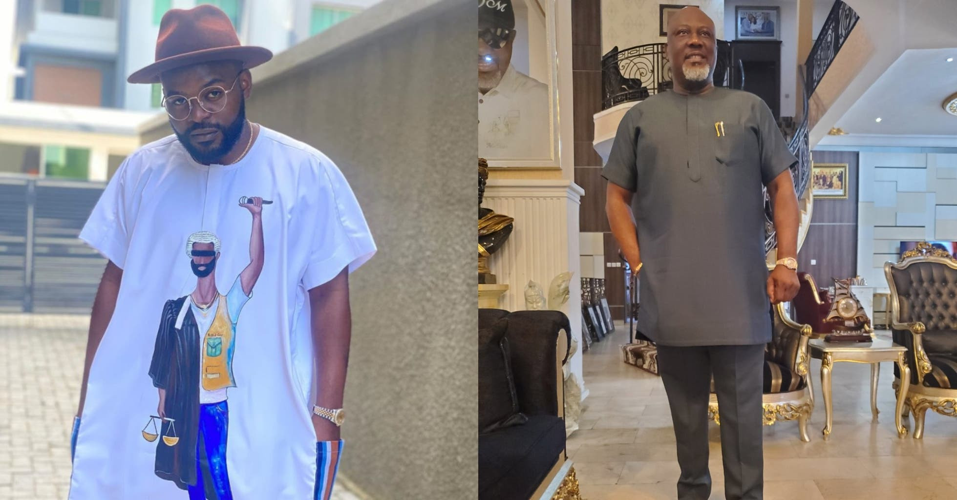 Falz slams Dino Melaye over solidarity with #EndSARS protesters - 'We go soon face una matter'