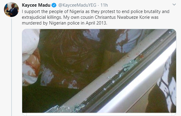 First black Canadian Minister Of Justice recounts how his cousin was allegedly murdered by Nigerian police (graphic)