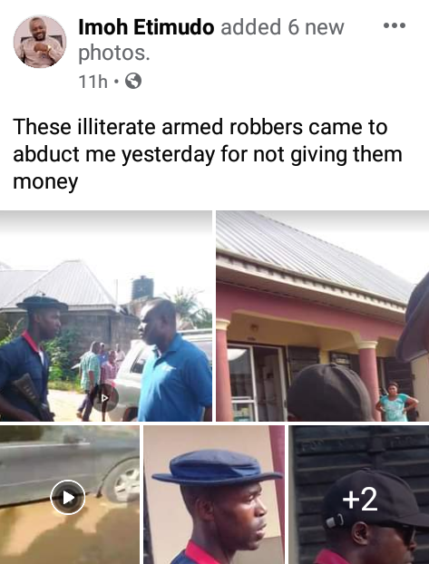"""They said they can kill me and nothing will happen""- NTA staff narrates how he was allegedly beaten up by NSCDC personnel over refusal to give bribe"