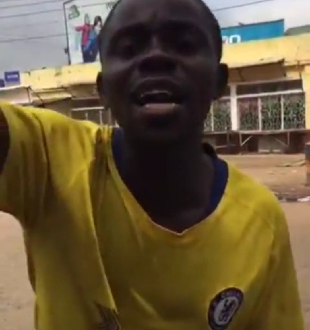 Thugs set prisoners free after hijacking #EndSARS protest in Edo (videos)