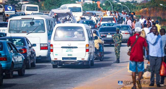Soldiers take over scene of planned #EndSARS protest in Abuja