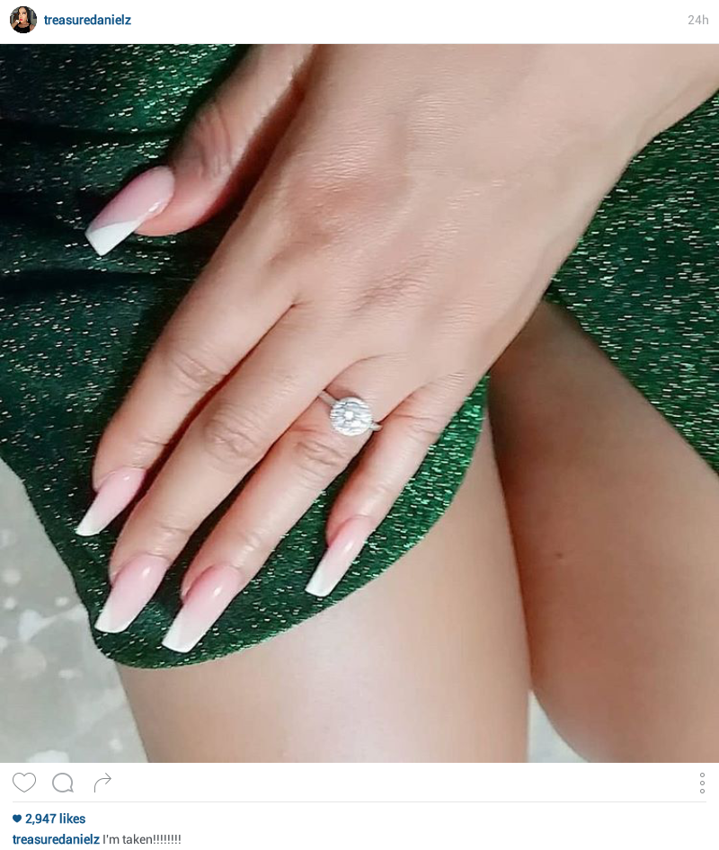 Nollywood actress Treasure Daniels gets engaged