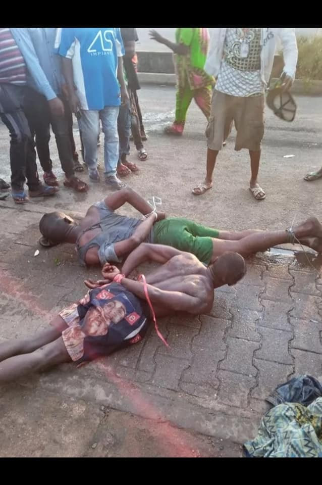 #EndSARS: Two hoodlums nabbed trying to break into shops in Benin City during curfew