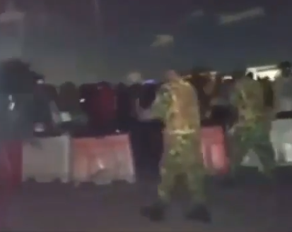 Medical personnel claim soldiers stopped them from getting their ambulance to #EndSARS protesters injured at Lekki tollgate (video)